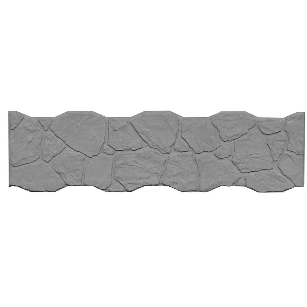 Betonzaon Betonplatte Felsoptik