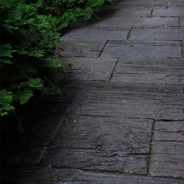 Holzdielen aus Beton