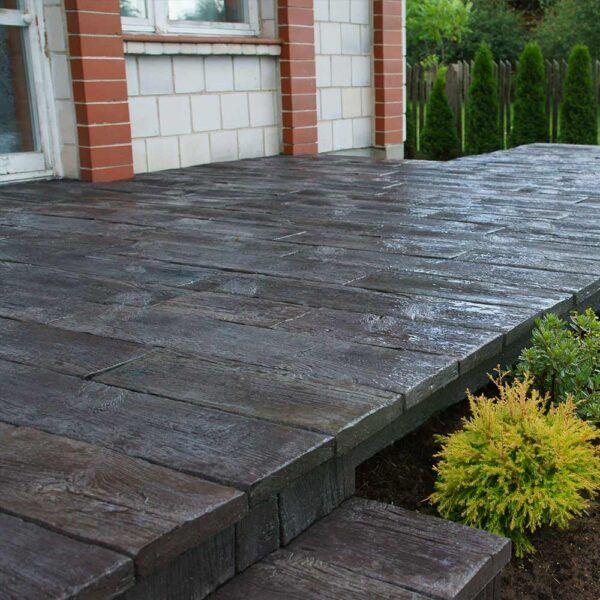 Terrassenplatten Holzimitation Ekogarden