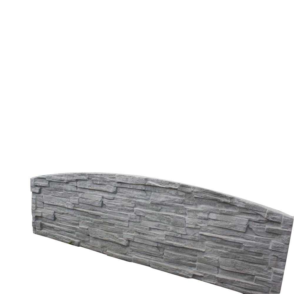 Betonplatte Bogen Betonzaun Sandstein