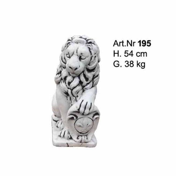 Betonfigur klein Löwe aus Beton