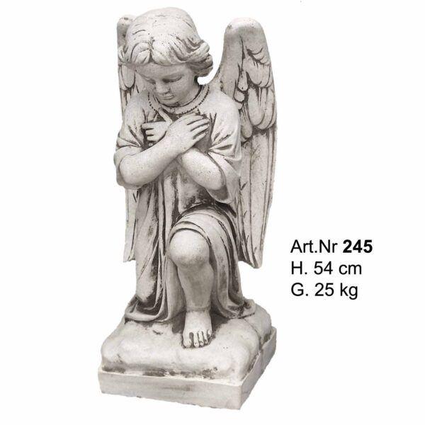 Betonfigur - Kniende Engel