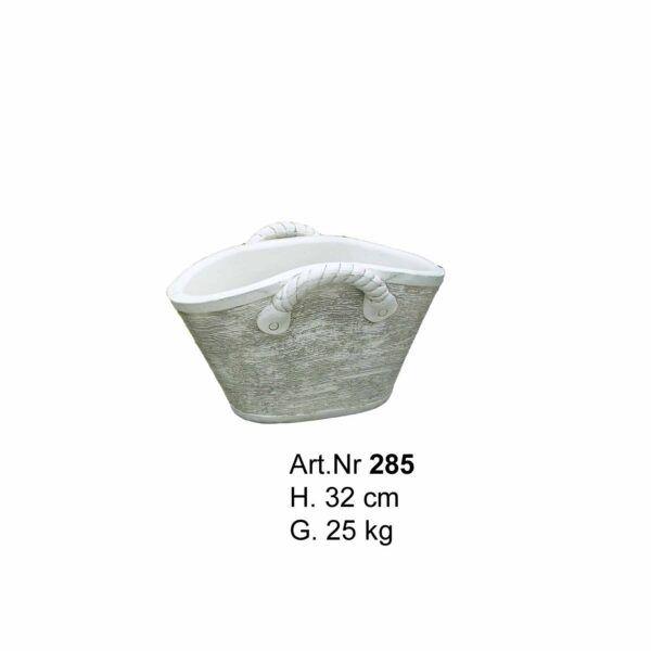Betonkorb - Blumentopf