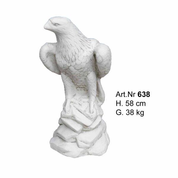 Betonfigur Adler