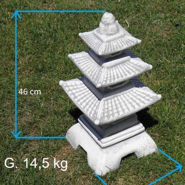 Gartenlampe - Pagoda